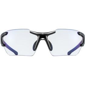 UVEX Sportstyle 803 Race VM Sportglasses small, black/ltm.blue